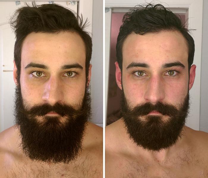 40 ejemplos que demuestran la diferencia entre una barba cuidada y la de un naufrago 02
