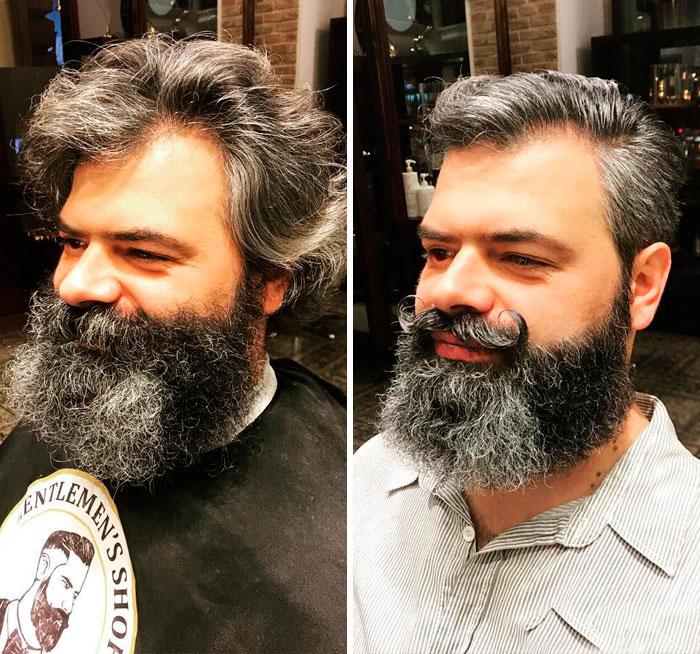 40 ejemplos que demuestran la diferencia entre una barba cuidada y la de un naufrago 06