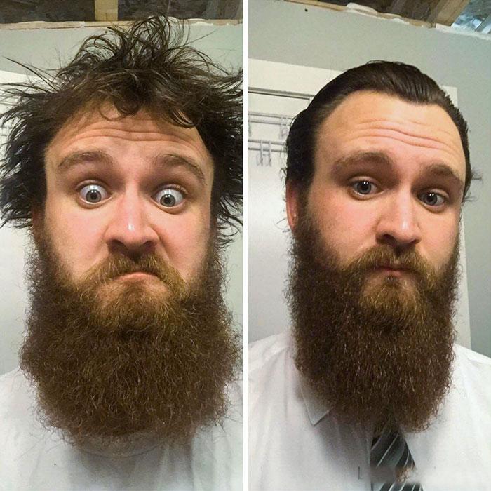 40 ejemplos que demuestran la diferencia entre una barba cuidada y la de un naufrago 12