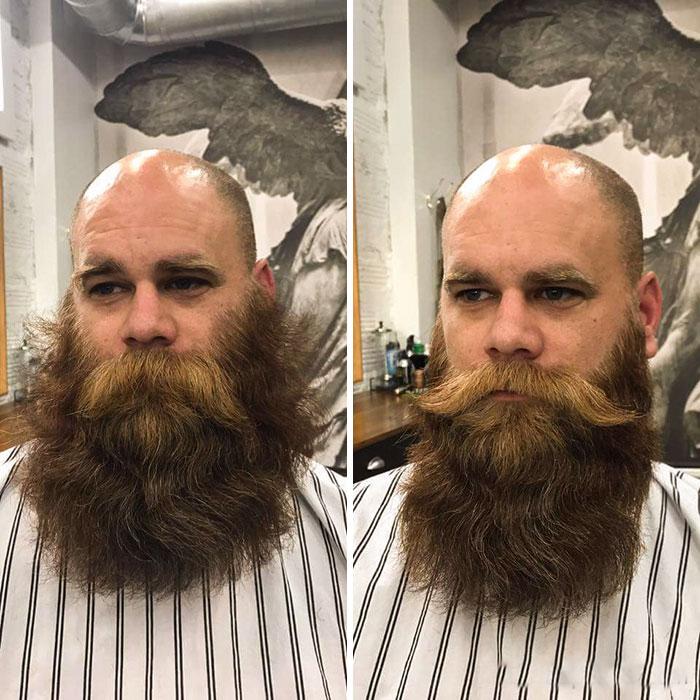 40 ejemplos que demuestran la diferencia entre una barba cuidada y la de un naufrago 13