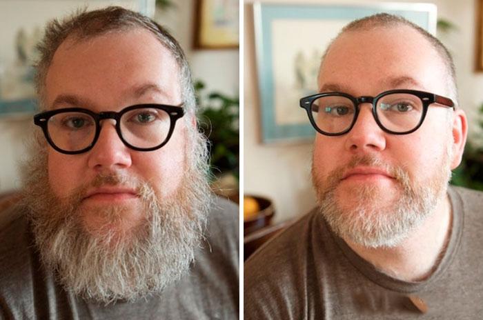 40 ejemplos que demuestran la diferencia entre una barba cuidada y la de un naufrago 15