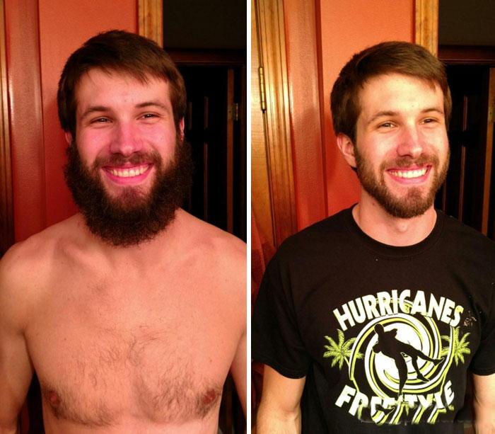 40 ejemplos que demuestran la diferencia entre una barba cuidada y la de un naufrago 20