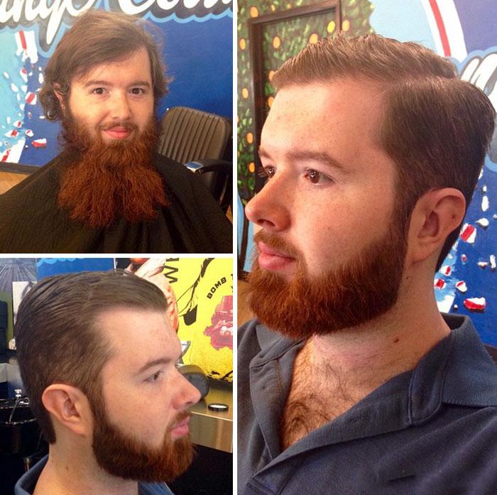 40 ejemplos que demuestran la diferencia entre una barba cuidada y la de un naufrago 24