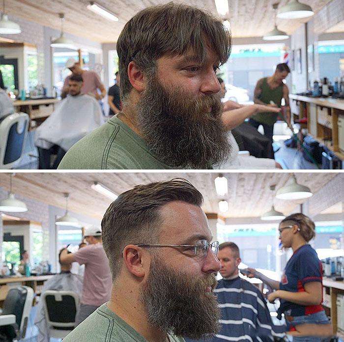 40 ejemplos que demuestran la diferencia entre una barba cuidada y la de un naufrago 25