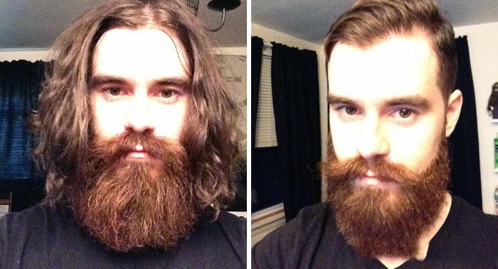 40 ejemplos que demuestran la diferencia entre una barba cuidada y la de un naufrago 28