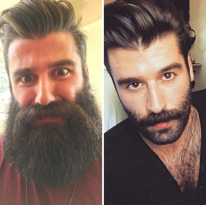 40 ejemplos que demuestran la diferencia entre una barba cuidada y la de un naufrago 29