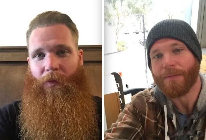 40 ejemplos que demuestran la diferencia entre una barba cuidada y la de un naufrago 31