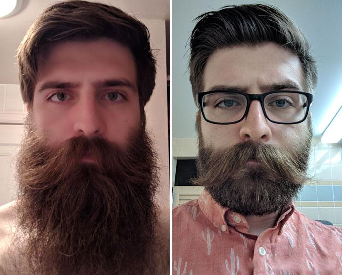 40 ejemplos que demuestran la diferencia entre una barba cuidada y la de un naufrago 32