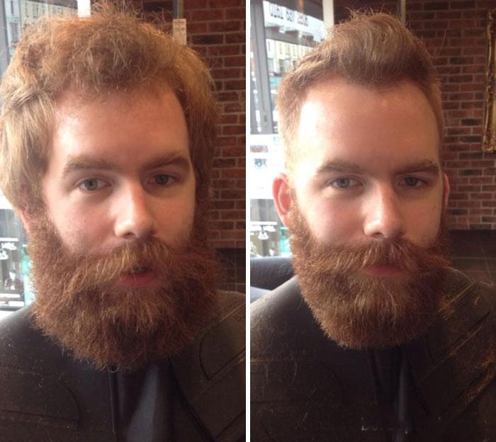 40 ejemplos que demuestran la diferencia entre una barba cuidada y la de un naufrago 33