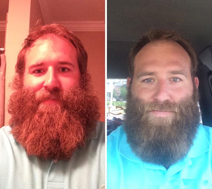 40 ejemplos que demuestran la diferencia entre una barba cuidada y la de un naufrago 34