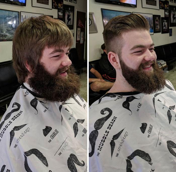 40 ejemplos que demuestran la diferencia entre una barba cuidada y la de un naufrago 35
