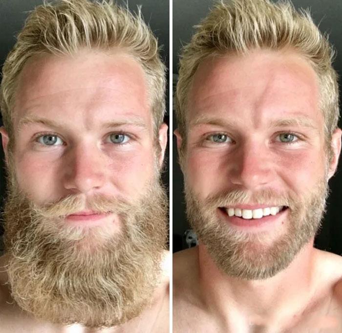 40 ejemplos que demuestran la diferencia entre una barba cuidada y la de un naufrago 36