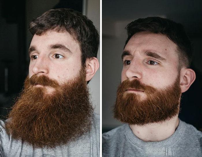 40 ejemplos que demuestran la diferencia entre una barba cuidada y la de un naufrago 38