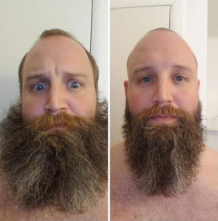 40 ejemplos que demuestran la diferencia entre una barba cuidada y la de un naufrago 40