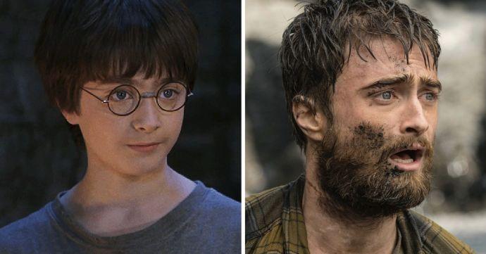 10 Imágenes del giro radical de los actores de Harry Potter tras 18 años de su estreno