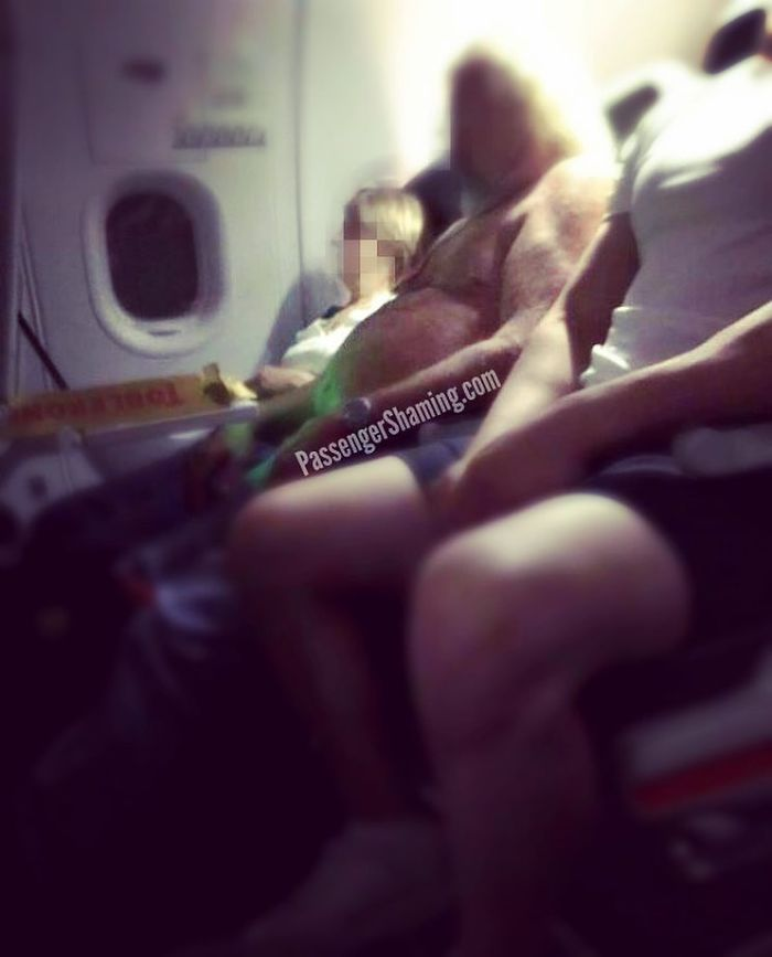 this instagram is gathering bizarre images of passengers on planes and you will not believe what your eyes will see 5c347cb004f48 700