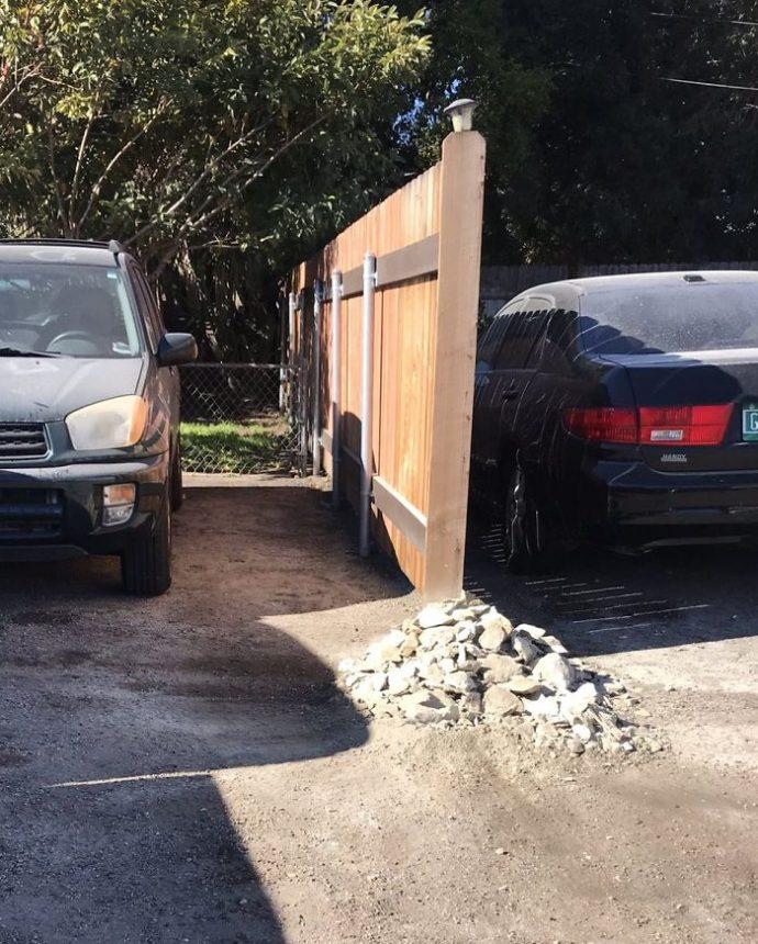 Una Geóloga se venga de su borracho vecino por bloquear su coche